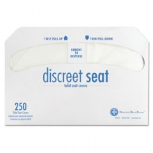 HOS HG2500 Toilet Seat Covers 10/250 Per Case