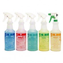 Spartan 949500 Green Solutions Industrial Cleaner Printed Spray Bottles & Trigger Sprayers 12 Per Case