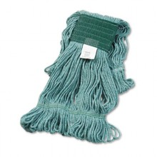 BWK 502GNEA Green Super Loop Wet Mop Head Cotton/Synthetic Medium Size Per Each