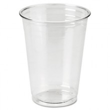 DXE CP10DX Clear Plastic PETE Cups Cold 10oz WiseSize 500 Per Case