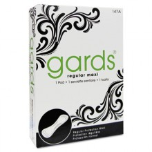 HOS 4147 Gards Vended Sanitary Napkins Maxi Pad #4 250 Individually Boxed Napkins Per Case