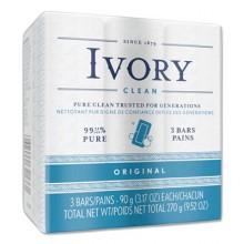 PGC 12364 Ivory Soap 72 3.1oz Wrapped Bars Per Case