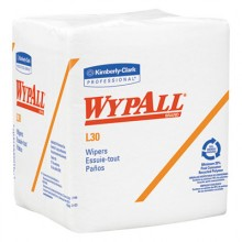 KCC 05812 Wypall L30 Quarter Fold Wiper 12 1/2 x 12 90/Box 12 Boxes Per Case