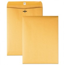 QUA 37897 Manila Clasp Envelope, 10 x 13, 28lb Brown Kraft 100 Per Box
