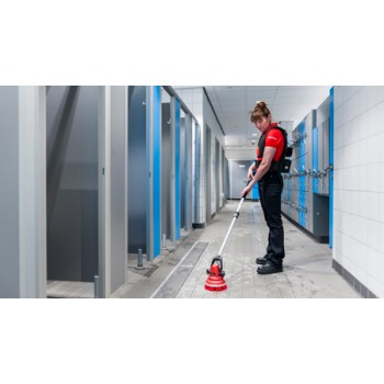 Motor Scrubber  RDG MS2000M 30 Inch Short Handle Battery Handheld Scrubber Per Each