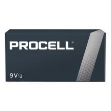 DUR PC1604BKD Procell 9 Volt Alkaline Batteries 12 Per Pack