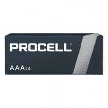 DUR PC2400BKD Procell AAA Alkaline Batteries 24 Per Pack