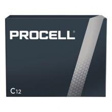 DUR PC1400 Procell C Alkaline Batteries 12 Per Pack