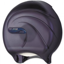 SJM R2090TBK Junior Jumbo Toilet Tissue Dispenser Single