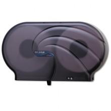 SJM R4090TBKOceans Junior Jumbo Twin 9 Inch Toilet Tissue Dispenser Per Each