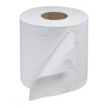 SCA RC530 Center Pull Bleached Towel 8IN x 12IN  600 Sheets Per Roll 6 Rolls Per Ca