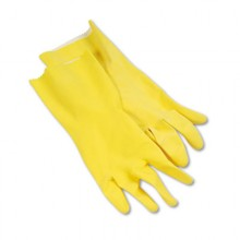 BWK 242S Small Yellow Latex Rubber Gloves Per Dozen