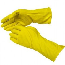 BWK 242M Medium Yellow Rubber Gloves Per Dozen