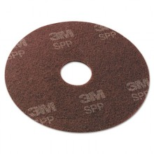 MMM SPP20 SCOTCH BRITE 20 Inch Surface Maroon Prep Floor Pads 10 Per Case