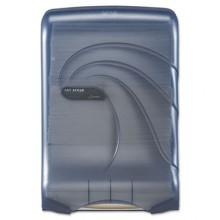 SAN T1790TBL Oceans Ultrafold Folded Towels Dispenser Blue