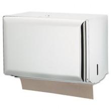 SJM T1800WH White Single-Fold Dispenser