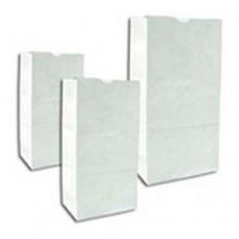 DRO 51028 8lb White Bags 500 Bags Per Bale