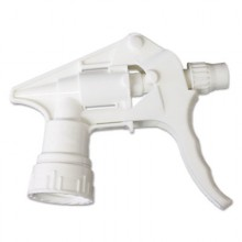 BWK 58108 White Trigger Sprayer for 24 oz Bottles 24 Per Case