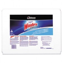 SJN 696502 Powerized Formula Windex Glass/Surface Cleaner, 5gal Bag-in-Box Dispenser