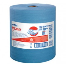KCC 41043 X-80 Jumbo Blue Wiper 12.5 x 13.4  475 Wipes Per Roll
