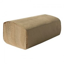 TRK SK1850A  Singlefold Brown Towel 9.1 IN X 10.25 IN 4000 Towels Per Case