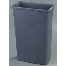 CFS 34202323 Carlisle TrimLine Gray Waste Receptacle 23 Gallon Per Each