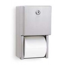 BOB 2888 Bobrick Stainless Steel Toilet Tissue Dispenser Covered