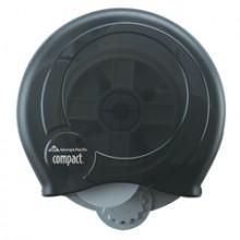 GP 56781 Compact Translucent Smoke High Capacity Coreless Bathroom Tissue Dispenser (Keyless) Per Ea