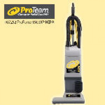 ProTeam 107252 Proforce 1500XP HEPA With Attachments Dual Motor Vacuum 3 Year Warranty Per Each