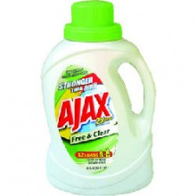 PBC AJAXX40 Ajax Pure Unscented Laundry Detergent, 60 oz Bottle 6 Per Case