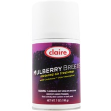 Claire C-106 Mulberry Breeze Metered Air Freshener 7oz 12 Per Case