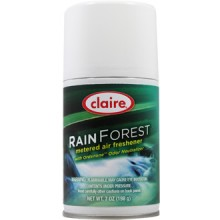Claire C-114 Rain Forest Metered Air Freshener 7 oz 12 Per Case