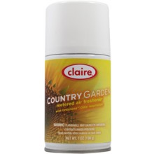 Claire C-118 Country Garden Metered Air Freshener 7 oz 12 Per Case
