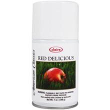Claire C-144 Red Delicious American Classic Metered Air Freshener 7 oz 12 Per Case
